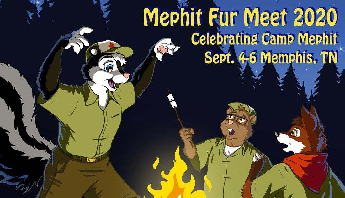 Mephit Fur Meet 2020 - Celebrating Camp Mephit - September 4-6, 2020 - Memphis, TN